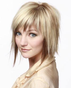 short choppy hairstyles