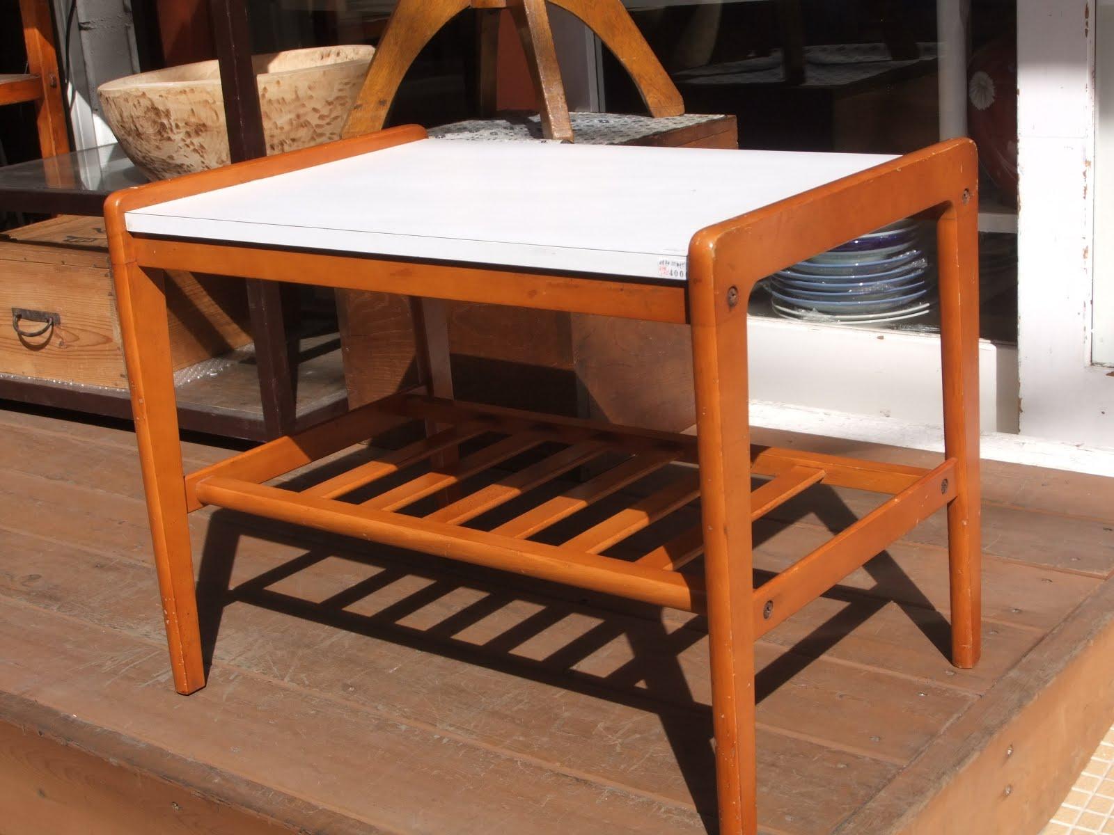 カリモク家具テーブル※昭和50年代