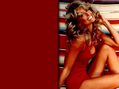 Farrah Fawcett in Bikini Wallpaper