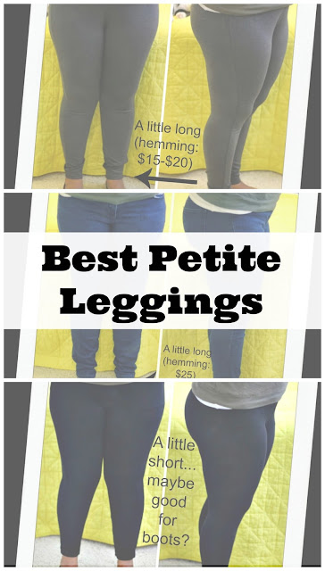 Curvy, Petite Outfit Ideas | Professional and Casual-Chic Fashion and Style Inspiration | Shopping Haul: Petite Legging + Jegging Review