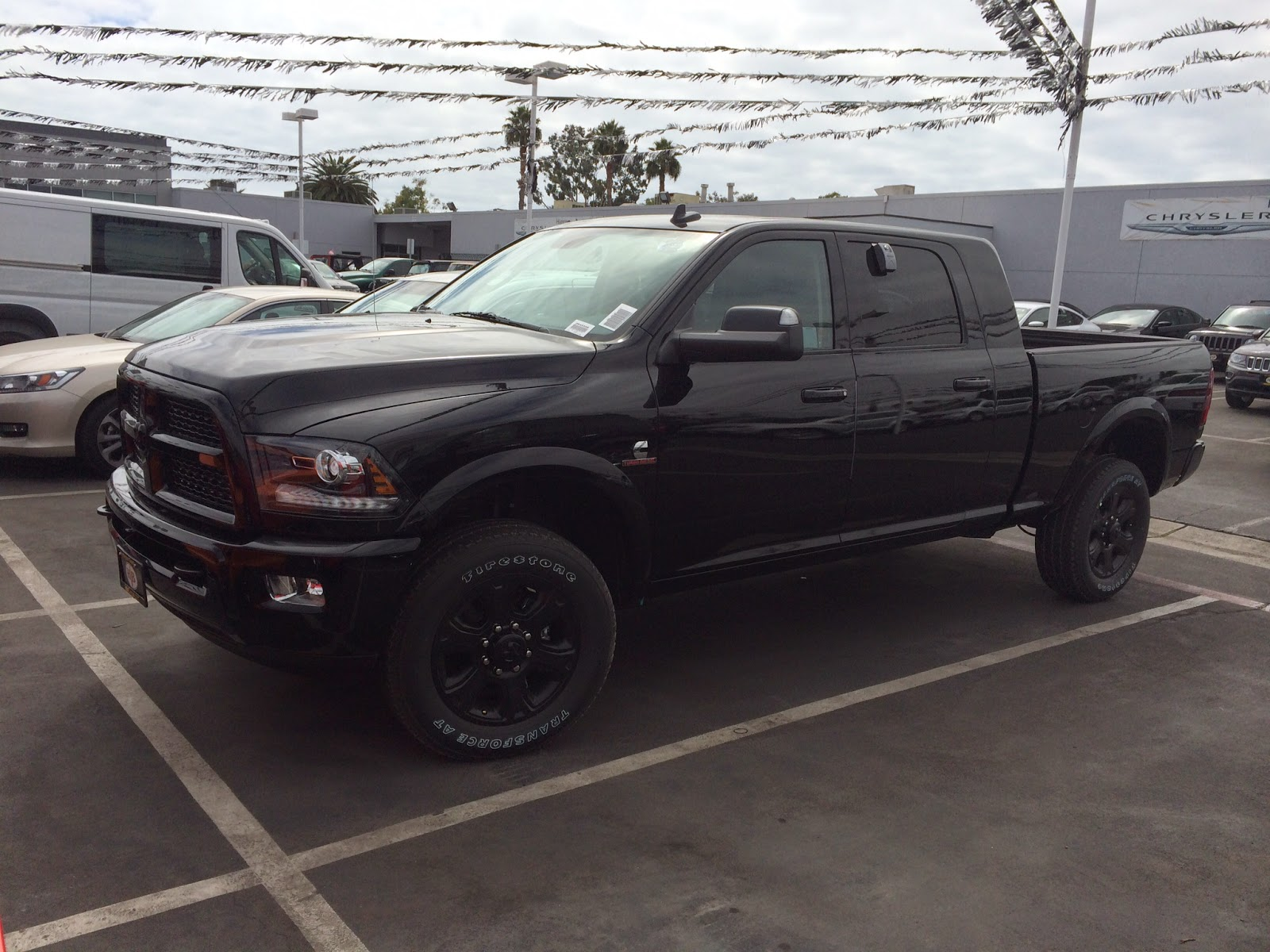 Build A Dodge Truck >> 2014 Mega Cab 2500 Blackout Edition Carli Pintop 2 5 Build Dodge