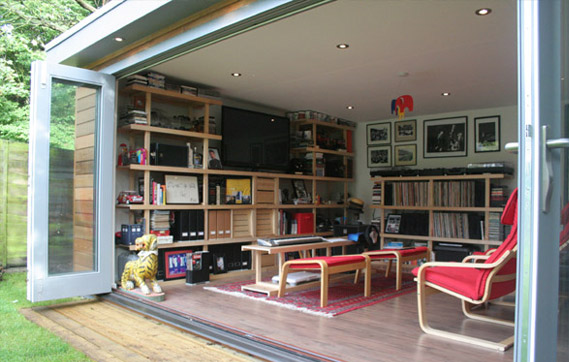 Refresheddesigns 11 reasons to turn a garden shed into living space