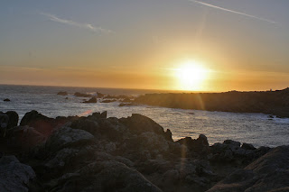 salt point state park sunset