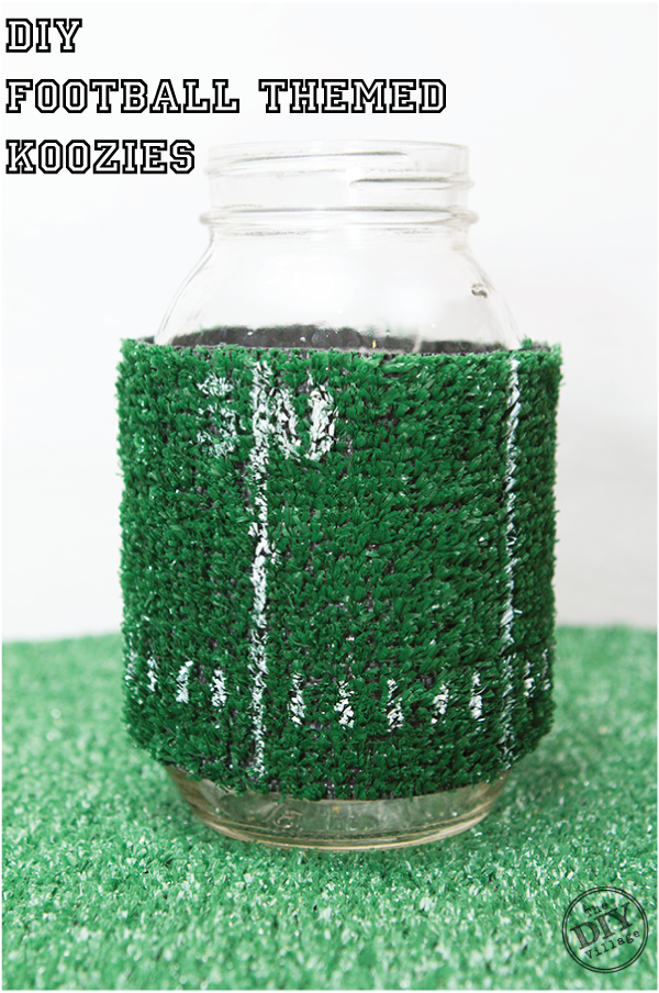 http://www.thediyvillage.com/2014/01/diy-football-themed-koozies-and-drink-markers.html