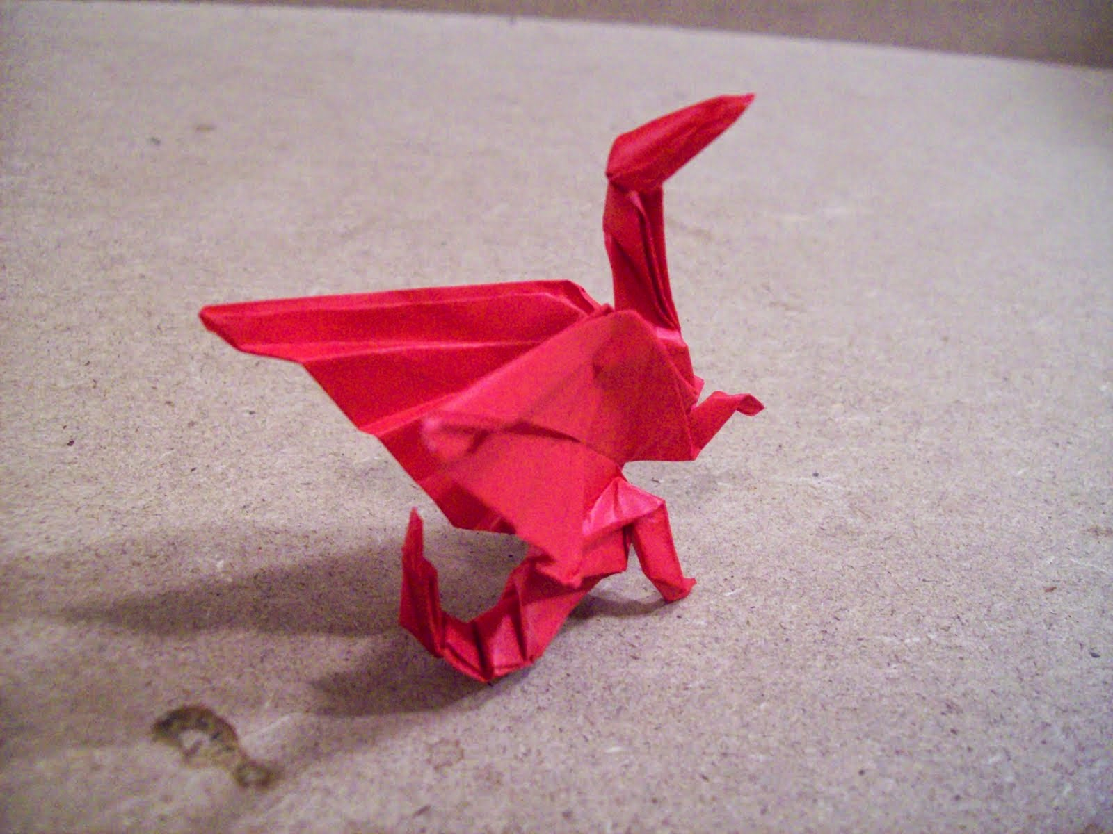 make origami dragon