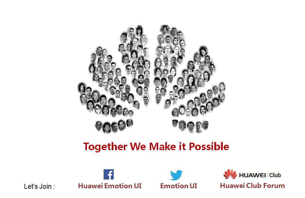 EMUI: Huawei Club – Together We Make it Possible