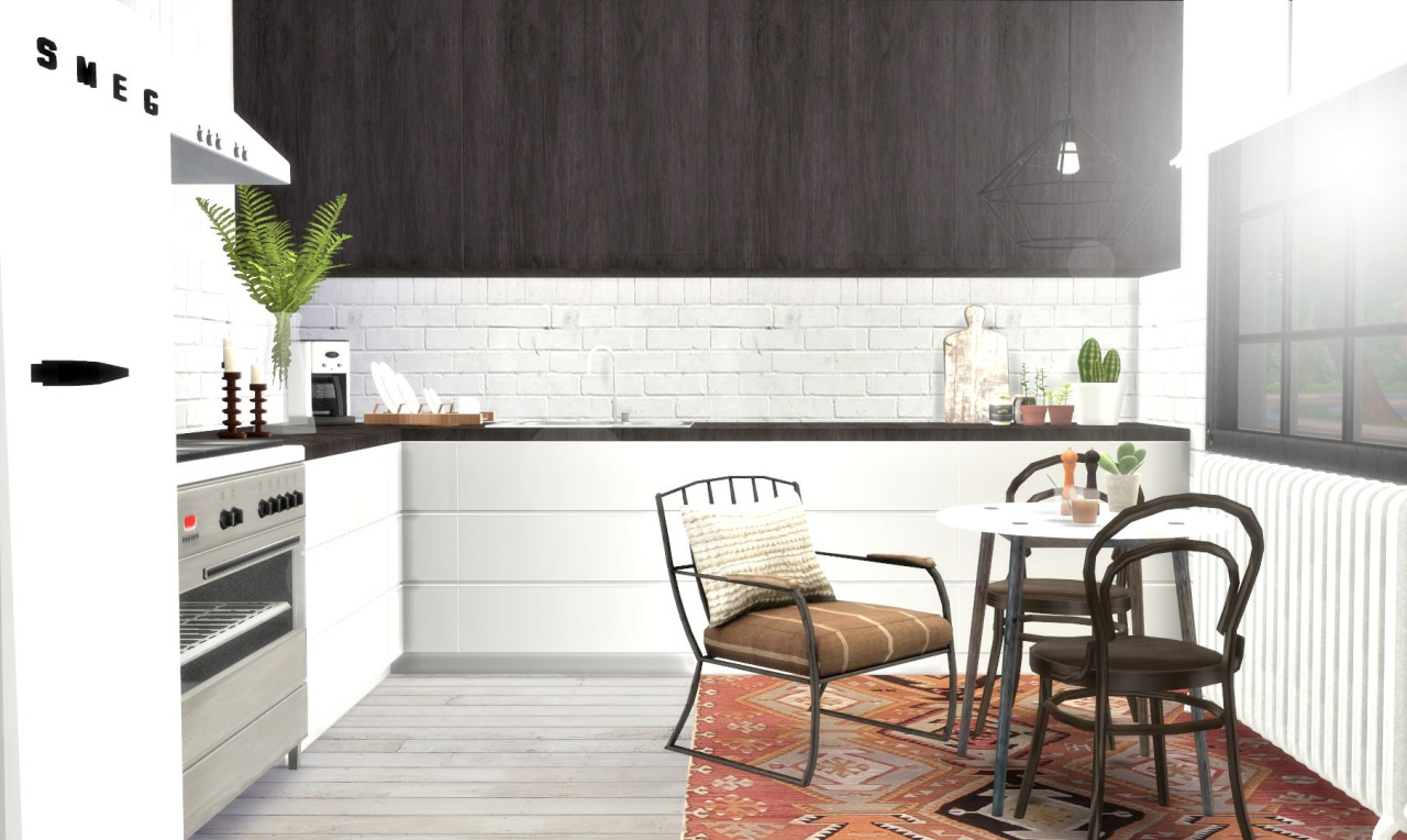 My Sims 4 Blog Kitchen Counters Amp Cabinets Recolors By Hvikis