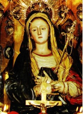 Imagen de la Nuestra Señora de la Candelaria