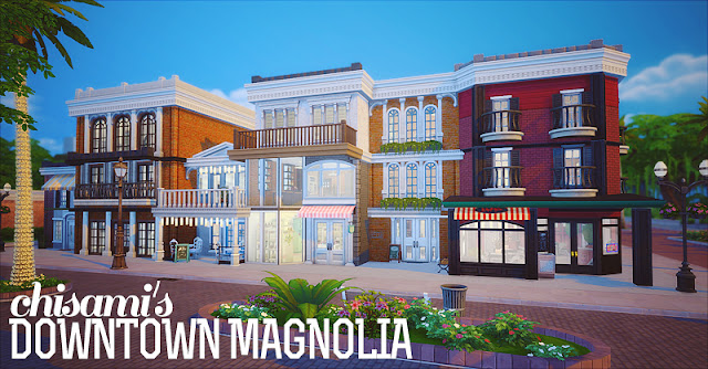 Sims 4 Downtown Apartments
