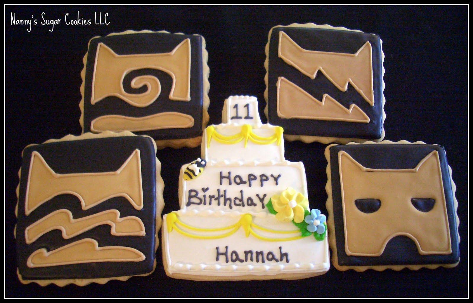 Nannys Sugar Cookies Llc Happy Birthday