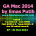 GA Mac 2014 By Emas Putih
