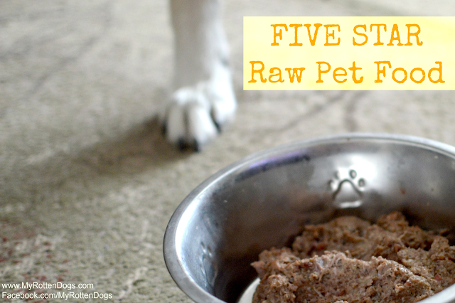 five star raw dog food review
