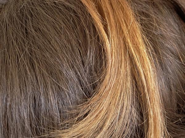 diffrence de ton entre ma couleur naturelle racines et mes pointes dcolores - Coloration Eclaircissante Blond