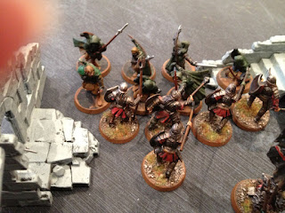 Hobbit SBG - Arnor rangers attack Morannon orcs
