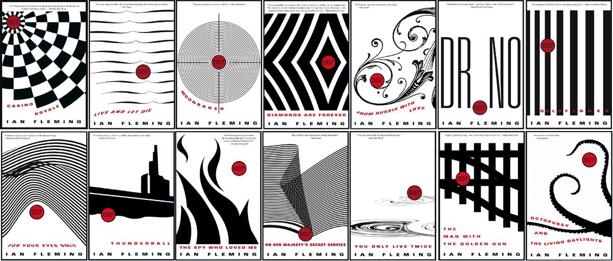 James Bond Book Cover Art : Illustrated the art of james bond new us paperback
