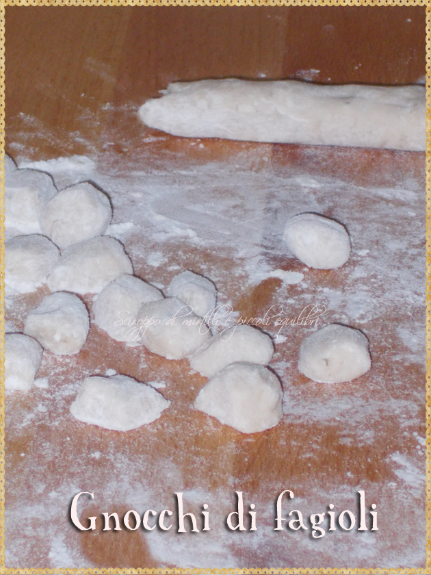 Gnocchi di fagioli