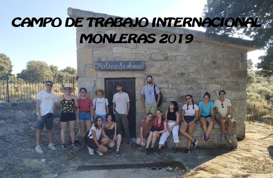Campos de Trabajo Internacionales Monleras 2019