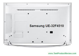 Samsung UE32F4510 rear