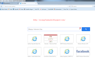 Fast Start New Tab di Firefox