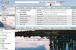 Gmail, Custom background
