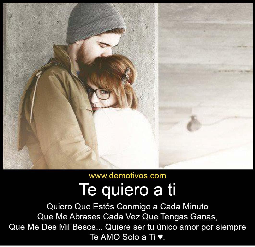 yo quiero todo de ti: