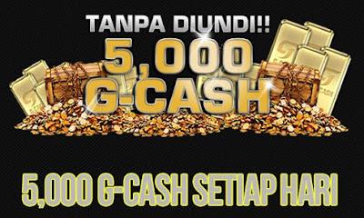 Cara Mendapatkan 5000 G-cash Gemscool ( Black Squad ) Secara Gratis Dan Resmi
