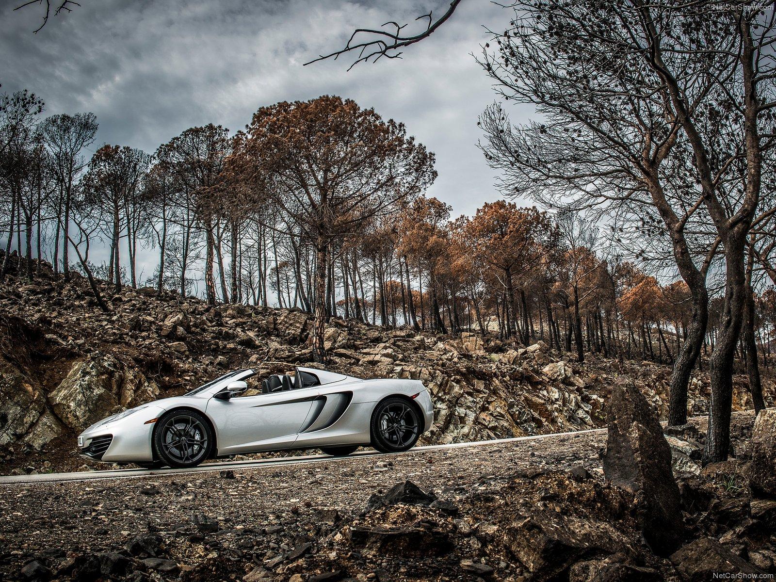 Hình ảnh siêu xe McLaren MP4-12C Spider 2013 & nội ngoại thất