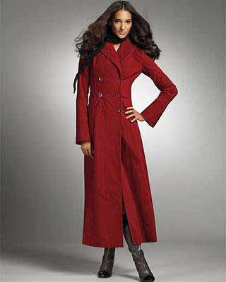 Red winter coat 2012 – Modern fashion jacket photo blog