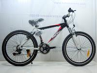 1 Sepeda Gunung PACIFIC MASSERONI 2.0 18 Speed Shimano 24 Inci