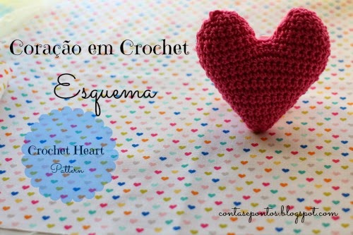 Crochet heart - pattern