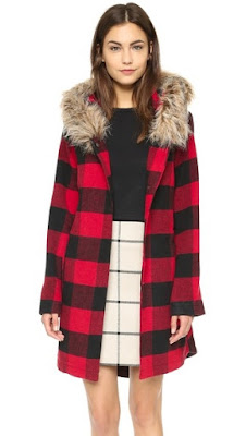 JASIENE BUFFALO PLAID COAT BB DAKOTA