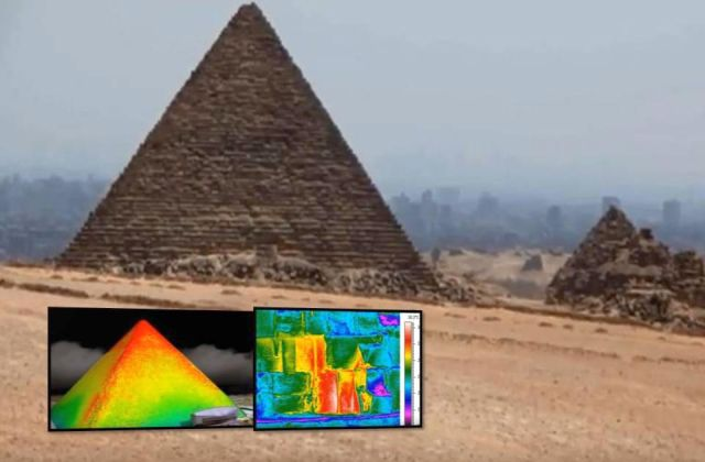 'Anomalies' Found In Thermal Scanning of Pyramids In Egypt  Giza%2Bpyramid%252C%2Bancient%252C%2Bmystery%2Bobject