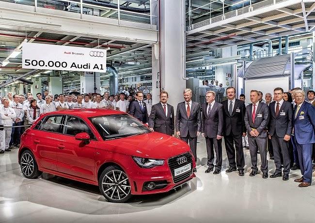 Chiếc Audi A1 thứ 500.000