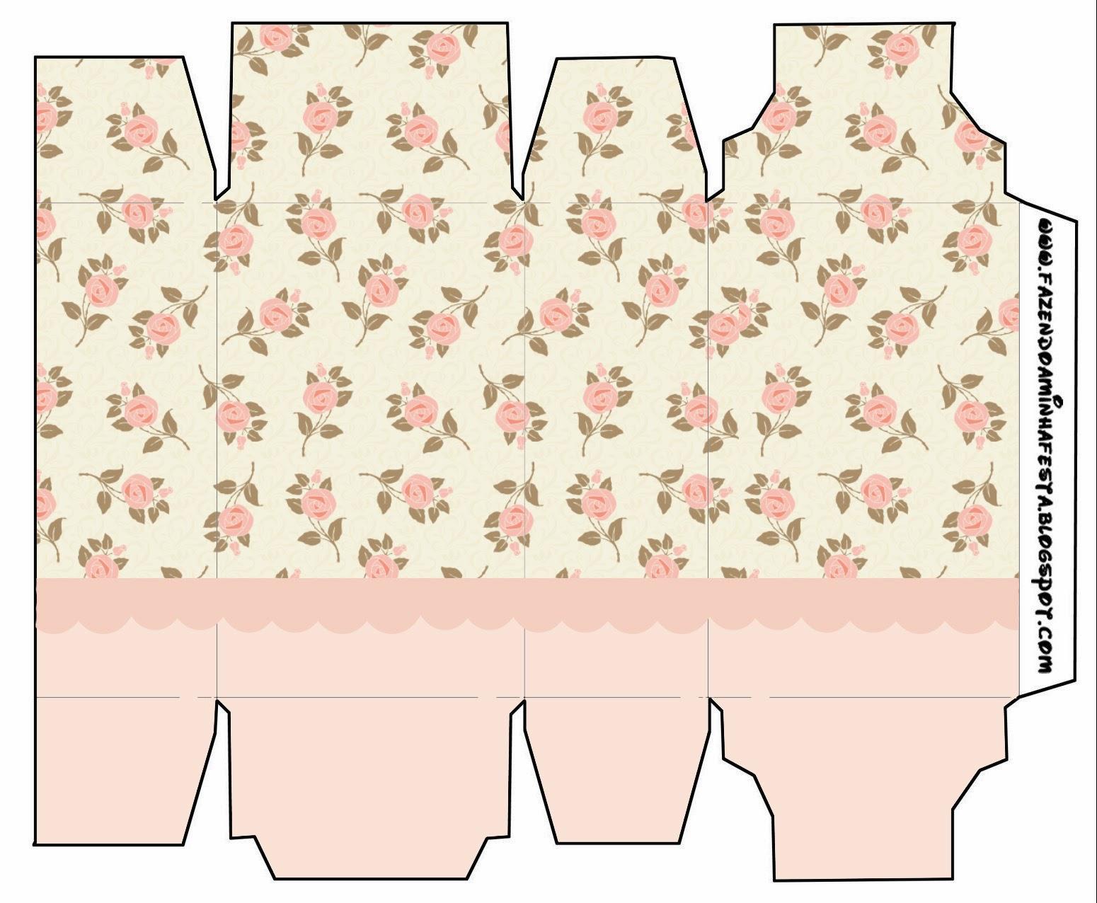 Delicadas rosas cajas para imprimir gratis ideas y - Regalos de muebles gratis ...