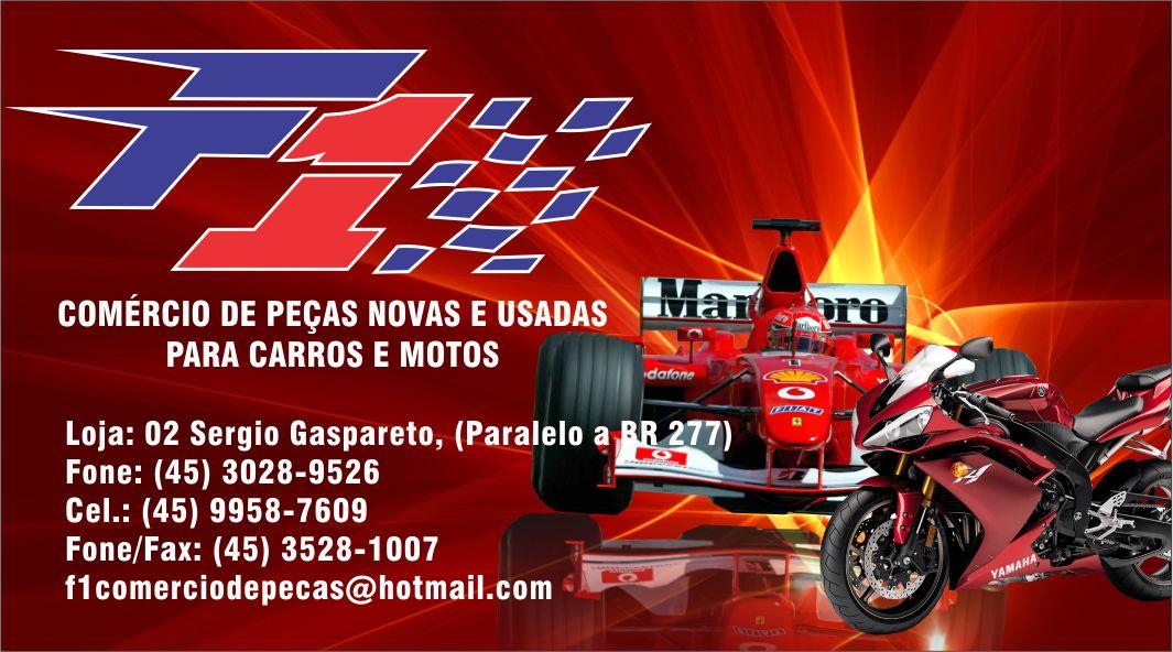 FORMULA 1 Peças para carros e motos 45 30289526 Rubens email f1comerciodepeças@hotmail.com