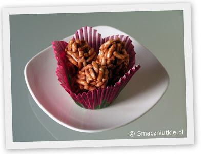Słodkie ryżowe szyszki - łakocie domowej roboty rodem z PRL-u