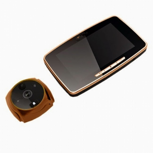 Дверной видеоглазок GSM IT-2 с датчиком движения, GSM модулем, выносным экраном и с записью видео и фото изображения