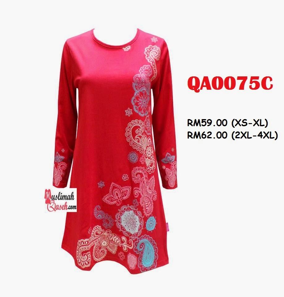T-Shirt-Muslimah-Qaseh-QA0075C