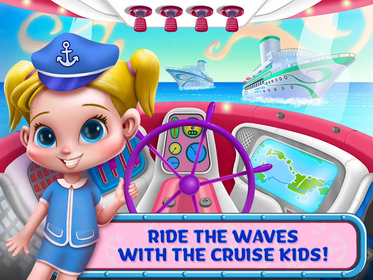 Cruise Kids - Ride the Waves Free App Game By TabTale LTD