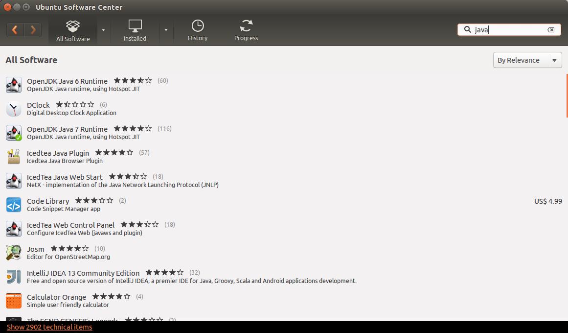 ubuntu 17.10 install openjdk 7