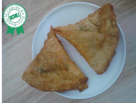 como hacer samosa verdura, samosa vegetariana
