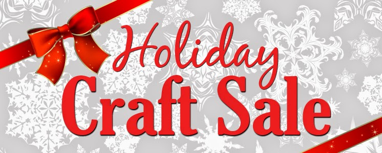 holiday craft sale banner