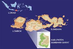Peta Kabupaten Sumbawa Barat