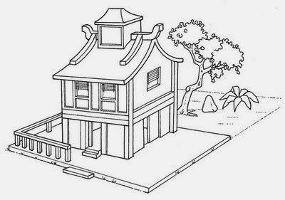 Tipos de Casas - Modelos de Casas - Casa Oriental