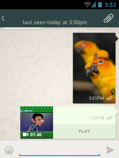WhatsApp New Holo Interface Look