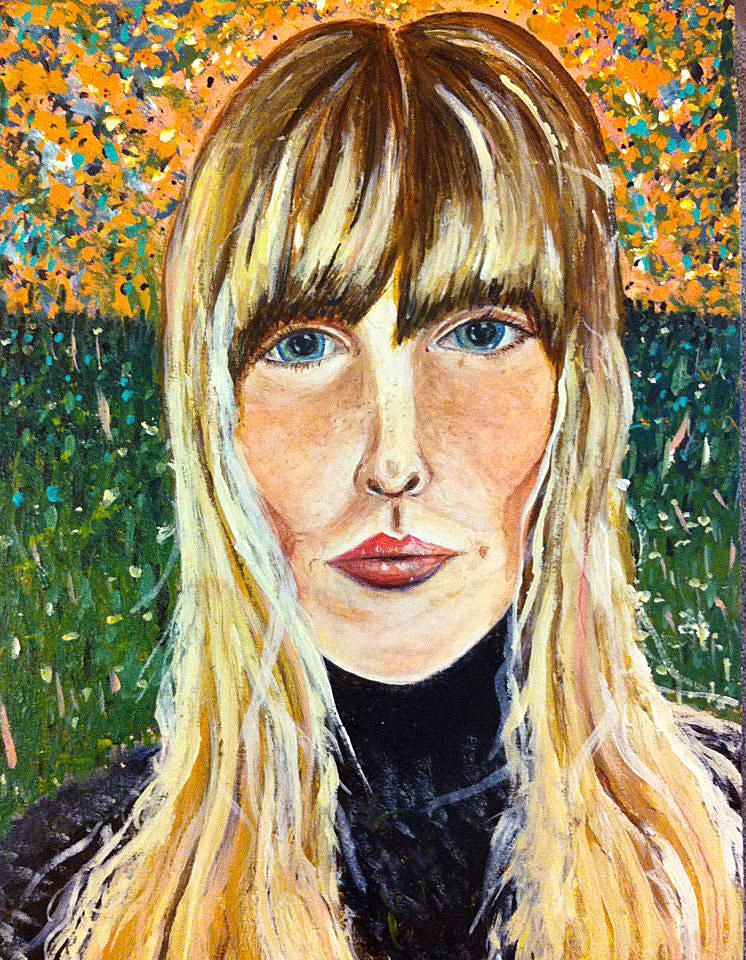Joni Mitchell Self Portrait I love joni mitchell.