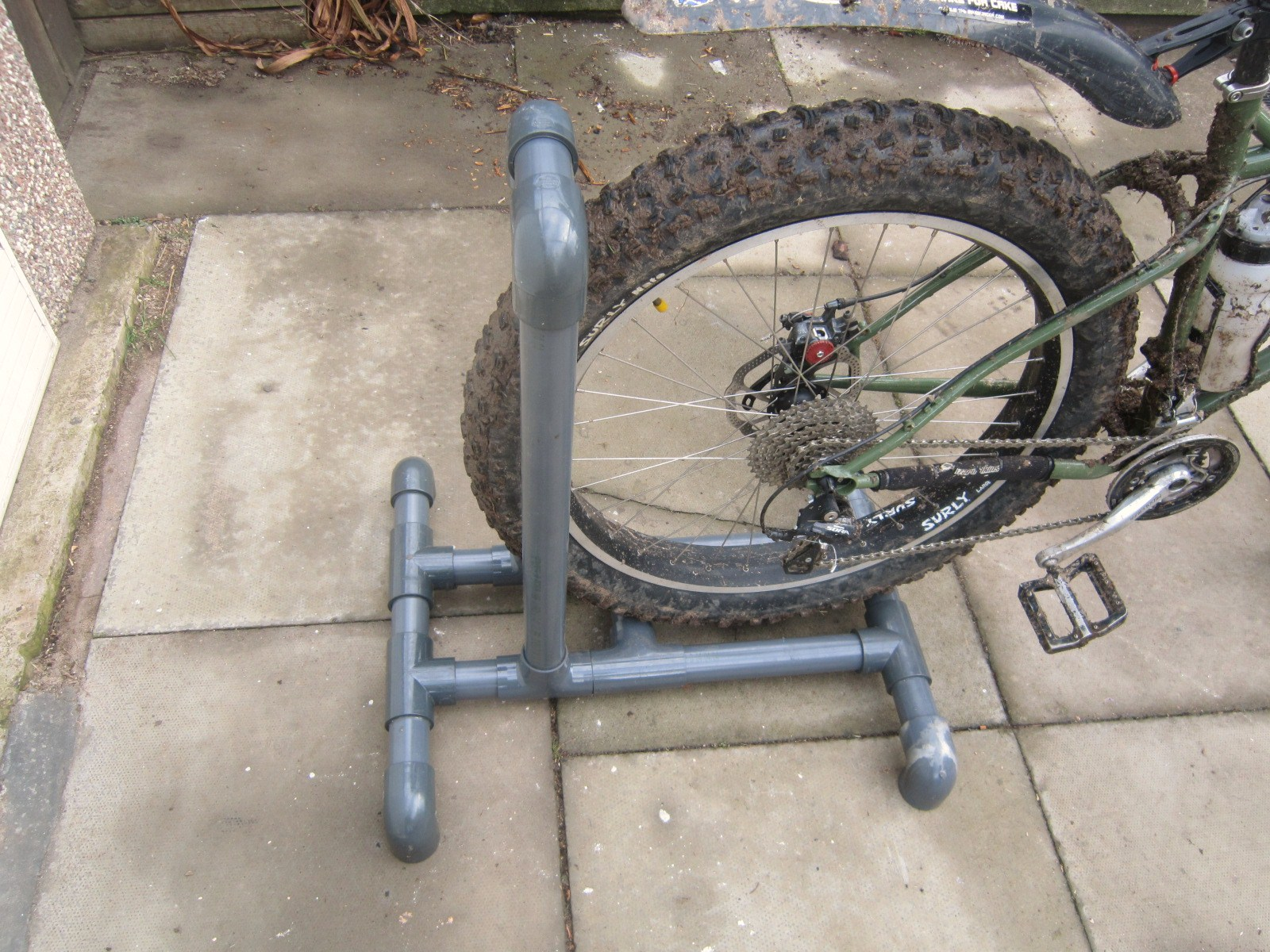 Coastrider Diy Fatbike Pvc Pipe Washstand