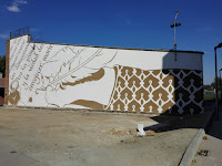 Brillante finalización del mural