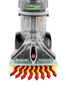 hoover max extract hot air return