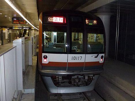 東急東横線 急行 志木行き 10000系